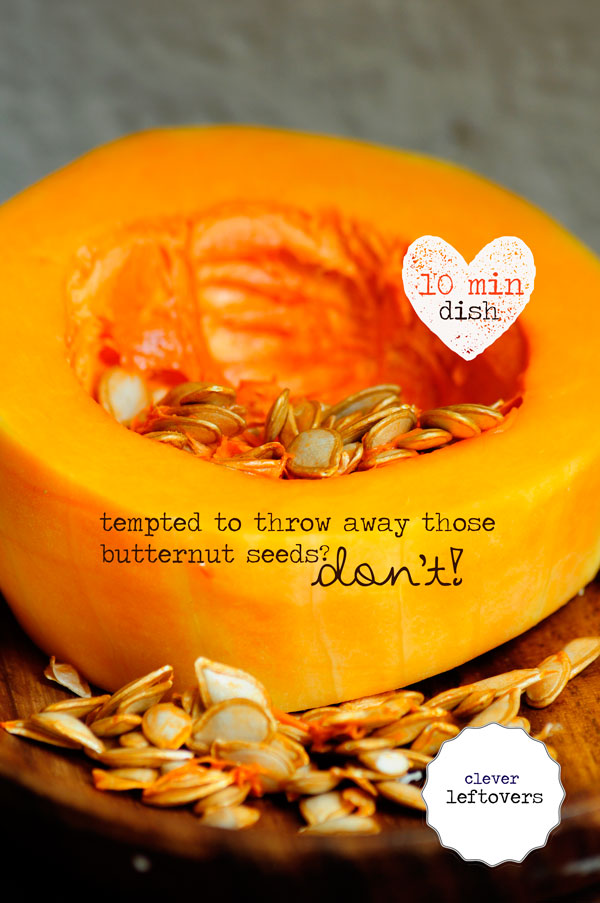 Butternut Seeds – Healthy Leftovers!